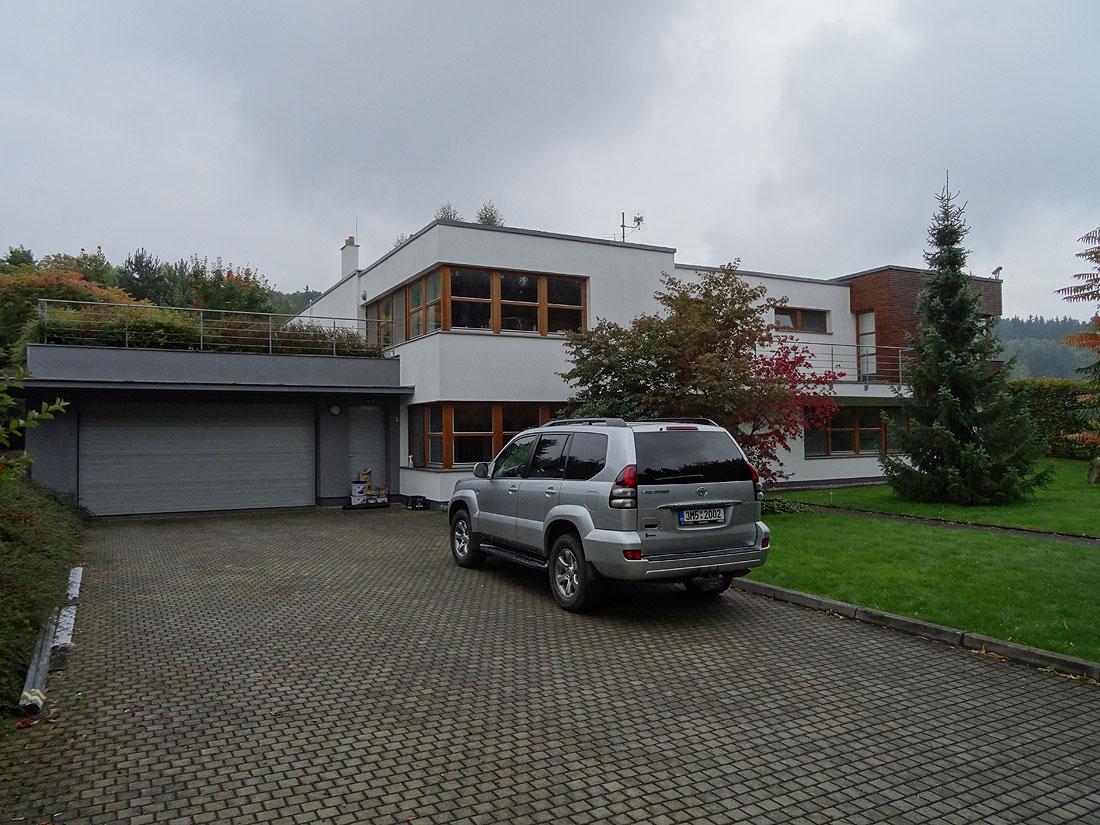 Oprava fasády rodinného romu